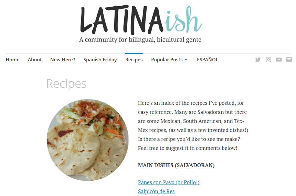 latinaish blog