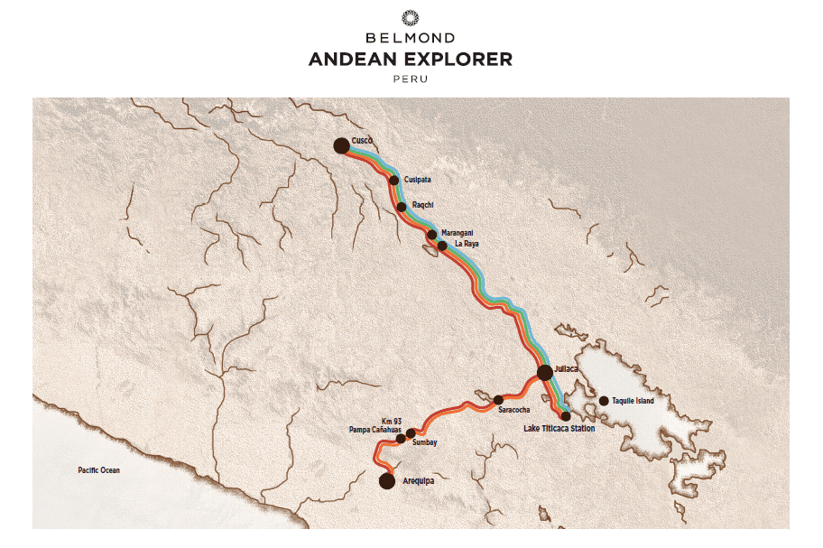 Belmond Andean Explorer Itinerary